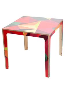 This Way Up's Geometric print table