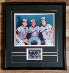cal ripken jr/ billy and cal ripken sr signed photo and 1988 donruss card from $159.99