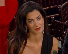 Amal Alamuddin Was Totally Over the Golden Globes 2015: Bored Photos - Us Weekly
