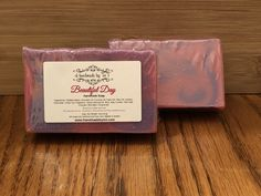 Beautiful Day soap Soap Net, Beautiful Day, Handmade, Hand Made, Craft