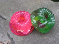 Items similar to Jello Type Soap - There's Always Room for Dessert Gelatin Vegan Holiday Soap on Etsy Hansel And Gretel House, Gelatin, Soap Making, Watermelon, Christmas Crafts, Diy Crafts, Cleaning, Fruit, Handmade Gifts