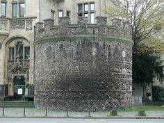 Roman tower in Cologne, Germany