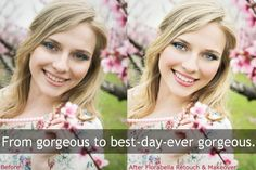 Photoshop tutorial...Gorgeous retouching and makeover photoshop actions for amazing picture editing #RetouchingPhotos