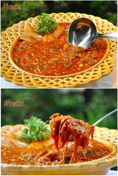 Ragù de Costela, ragù é um cozido de carne, feito com tomates, típico da Itália. Já o nome 'ragout' tem origem francesa e quer dizer 'guisado'.