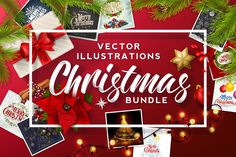 Christmas Bundle by Invisible Studio on @creativemarket