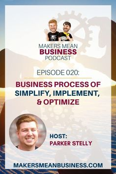 Parker talks about how he simplifies the business process. He takes business process management to a new level and breaks down how he does it.