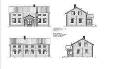 Pohjalaistalo 3, 118m2+114m2 | Rakennus Luoma Oy Floor Plans, Floor Plan Drawing, House Floor Plans