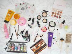 Affordable Beauty | Haul & Review. New Beauty Launches for Spring 2018 | Jasmine Talks Beauty  #bbloggers #bblogger #makeupaddict #makeupaddict #skincare #haul #beautyhaul #drugstoremakeup #drugstorebeauty #haircare #flatlay #superdrug #revolutionmakeup #sukin #inglot #colourpop #leestafford #touchinsol #eyeshadowpalette #facemask #mandaraspa #liquidlipstick #ukblogger #discoverunder100k #physiciansformula #ecotools #makeupbrushes