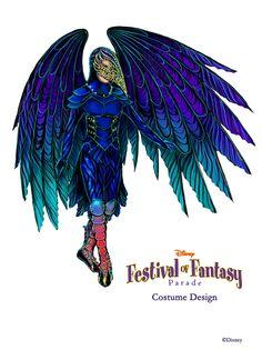 Festival of fantasy parade costume design.