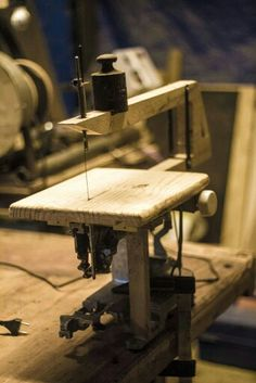 Scroll saw from sewing machine