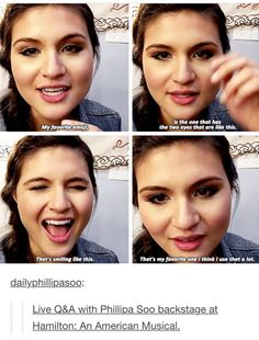 Oh my god she is adorable I want to squeeze her cheeks in the most platonic way she is so cute omg