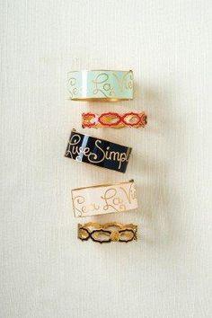 Spartina Sea la vie bangle bracelets in coastal colors!