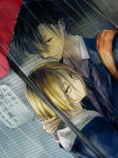 Haikyuu!! ~~ Rainy day :: Kozume Kenma and Kuroo Tetsurou