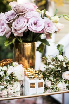 flower crowns + rose perfume