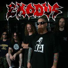 Exodus logo and band