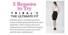 5 Reasons to Try TRIBAL's Ultimate Fit #new #tribalsportswear #cantfakethefit #theultimatefit #fashion #style #styletips Tribal Fashion, Fashion Today, Body Shapes, A Boutique, Personal Style, Clothes For Women, Fitness, Fashion Tips, Trends