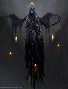 Name: unknown ID:  Security Level: High  Creature Type: Wraith  Crime: unmarked Notes: Creepy as fuck, steer clear. Don't move the candles. Don't blow them out. It keeps it calm or something like that.