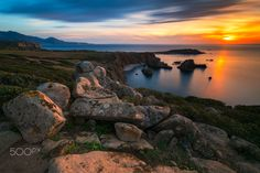 """Capo Pecora Sunset - With the new Haida NanoPro filters (GND soft 0.9 + ND1000)  FOLLOW ME <a href=""""https://www.facebook.com/Luka180Photos"""">FACEBOOK</a> 