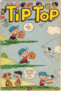 UFS Tip Top Comics #187 (July-Aug54)