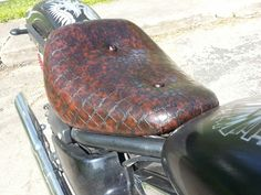 Pin By Jay Jones On Reupholstered Motorcycle Seats Pinterest - Vinyl for motorcycle seat