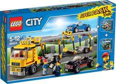 Lego City Police, Lego City Garage, City Super, Lego Truck, Barbie Doll House, Buy Lego, Lego Sets, Legos, Cool Toys