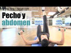 Rutina de ejercicios de pecho y abdomen.