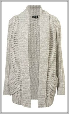 fluffy textured stitch long line cardigan.