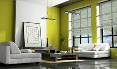 Decoración e Ideas para mi hogar: Decorar con color verde