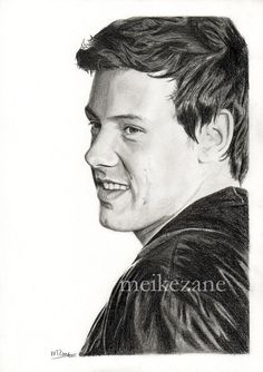 Cory Monteith/ Unknown artist