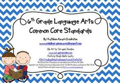 6th Grade Language Arts Common Core Standards-Posters and Handouts!... Kristel I saw this and thought of you. :)