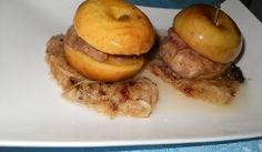 Задушени пилешки #дробчета в карамелизирани #ябълки От Веселина Константинова http://recepti.gotvach.bg/r-48683