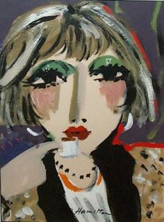 George Hamilton George Hamilton, Paintings, Drawings, Artist, Anime, Faces, Portraits, Watercolor, People