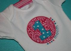 I2S's Month Number set -- In hoop sizes: 4x4 and 5x7, Includes numbers 1-11