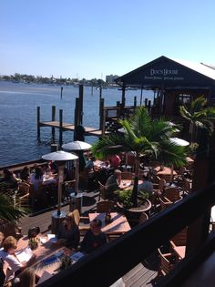 Down on the dock Fort Myers, Naples, Drink Recipes, Babyshower, Things To Do, Restaurants, Places To Visit, To Go, Appetizers
