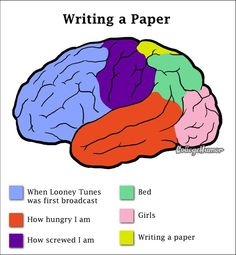 What is the purpose of writing papers in college?