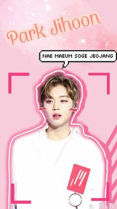 Park Jihoon jeojang ❤ Wanna One Fluffy Bunny, Tumblr Wallpaper, Aesthetic Wallpapers, Parks, Korea, Kpop, Wall Decor, Bts Wallpaper, Wall Hanging Decor