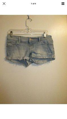 Size 31 Women's Clothing Buffalo David Bitton White Denim Cut-off Shorts