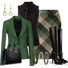 Olive this color combo!!