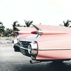 #vintage #pink #car