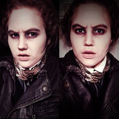 My take on the Sweeney Todd makeup from the movie.