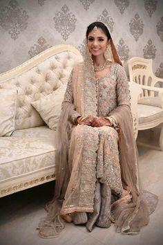 Pakistani Wedding Dresses, Pakistani Bridal, Pakistani Outfits, Indian Dresses, Wedding Dress With Veil, Wedding Wear, Wedding Attire, Wedding Bells, Ethnic Fashion