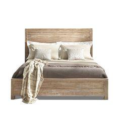 Found it at Wayfair - Grain Wood Furniture Montauk Panel Bed - Size: Queen Master Bedroom, Bedroom Decor, Bedroom Ideas, Bedroom Styles, Bed Ideas, Bedroom Lighting, Bedroom Colors, Bedroom Designs, Master Suite