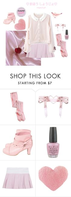 """Pink princess hell"" by cupcakeidun ❤ liked on Polyvore featuring Aerie, OPI and Alexander Wang"