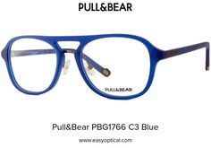 Pull&Bear PBG1766 C3 Blue Eyewear, Bear, Eyeglasses, Bears, Sunglasses, Eye Glasses, Glasses