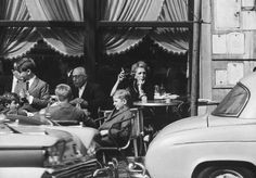 A sidewalk café on a Sunday afternoon, Buenos Aires, Photograph by Leonard Mccombe. Old Photography, History Of Photography, Black White Photos, Black And White Photography, Sidewalk Cafe, Argentina Travel, Old Pictures, South America, Short Film