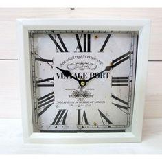Štýlové stojace hodiny dodajú osobitosť každej miestnosti.  Hodiny v štýle Vintage. Patinovaná úprava povrchu.