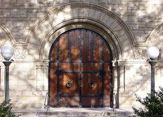 Pittsburgh, PA Shadyside Presbyterian Church doors