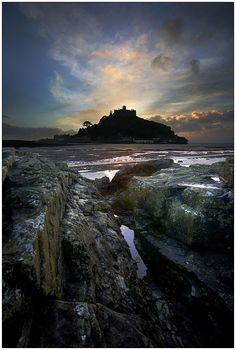 St. Michael's Mount in Cornwall - by Barrie Tumbridge
