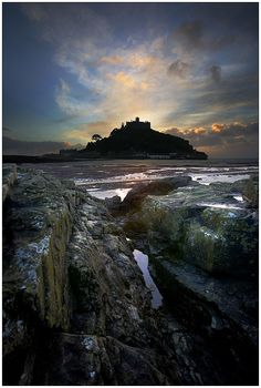 St. Michael's Mount in Cornwall, UK - photo taken by Barrie Tumbridge