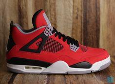 03cf49c2f2e0 Air Jordan IV  Fire Red Nubuck  - SneakerNews.com